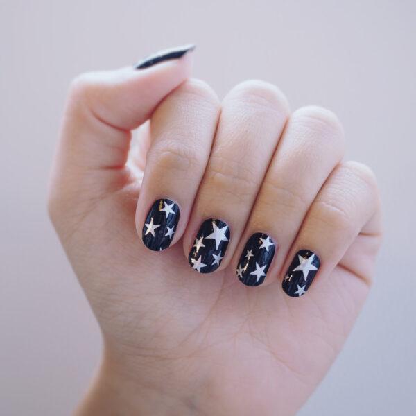 Star Studded Nail Wrap