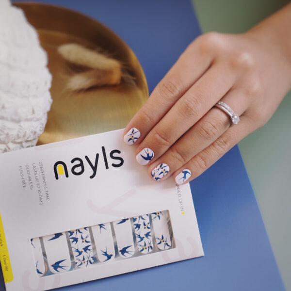 小燕子 My Little Sparrow nail wrap