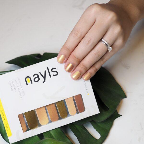 Champagne Nudes Nail Wrap