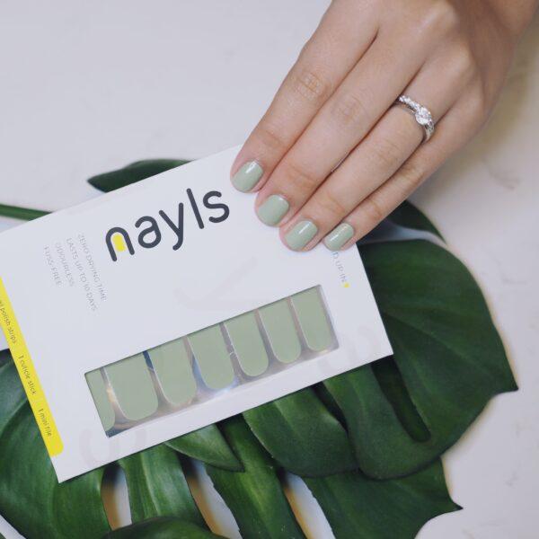 Sage Nail Wrap