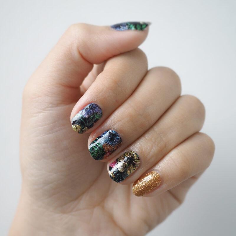Mystique Fleur Nail Wraps