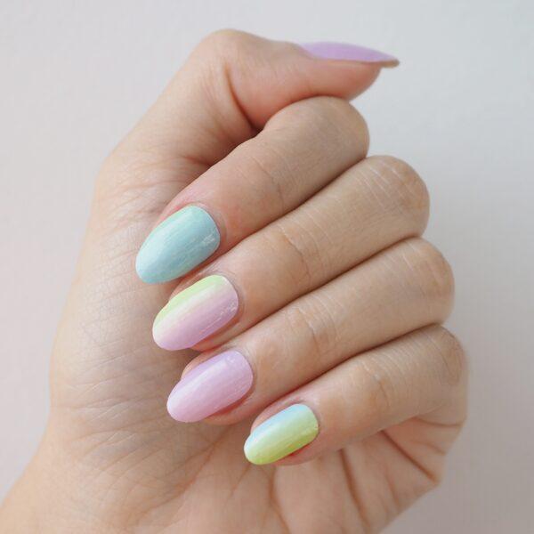 Cotton Candy Nail Wraps