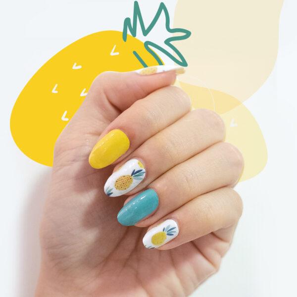 ong lai pineapple nail wrap