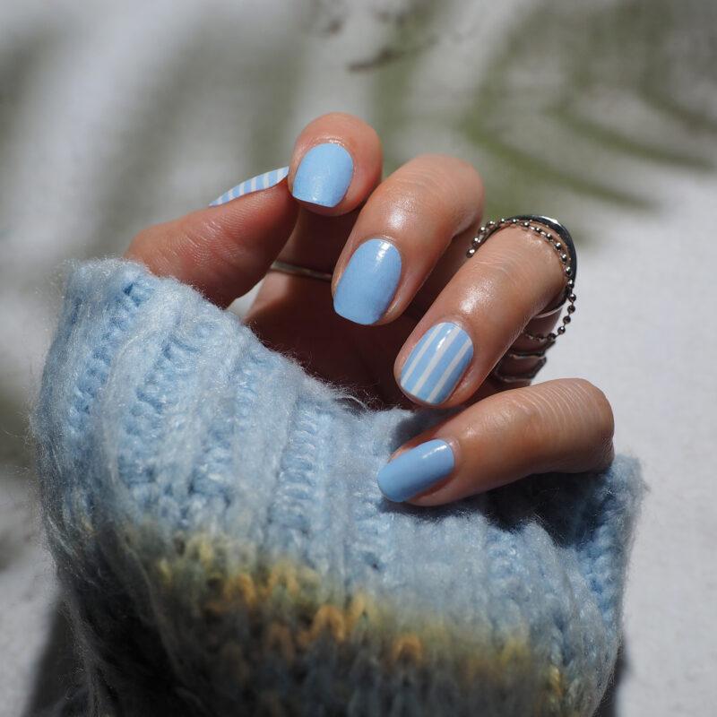 Pretty in Blue Nail Wraps